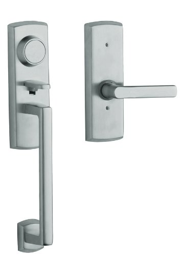 Dummy Soho Handleset (Baldwin 85385.260.1RFD Soho Right Hand Dummy Handleset with Soho Lever, Chrome)