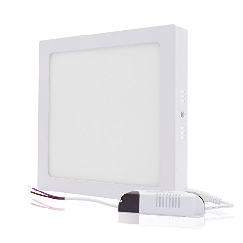 xtf2015 24W Square Led Surface Cool White 6000-6500k Super Bright LED Panel Light Ceiling Downlight Lamp Kit with LED Driver AC 110-240V