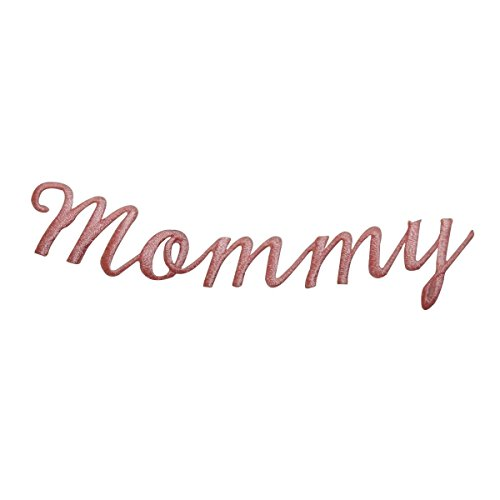 ID 7813 Mommy Cursive Script Patch Writing Name Sign Embroidered Iron On Applique -