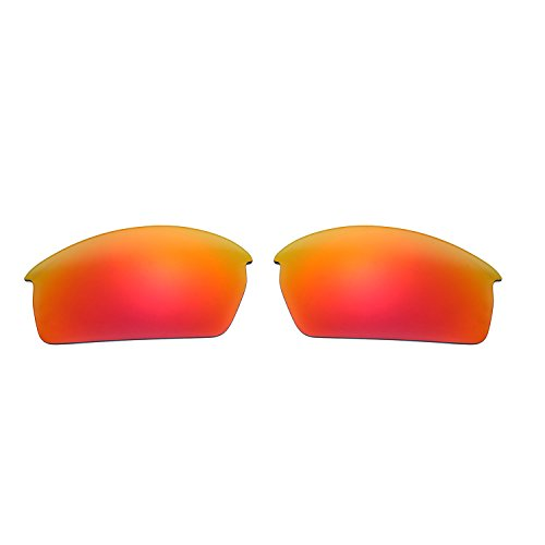 Polarized Replacement Lenses for Oakley Bottlecap Sunglasses (Fire Red) - Oakley Bottle Lenses Cap