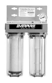 Everpure EV979782 SC10-11 Water Filtration System twin head for steamer & combi- by Everpure