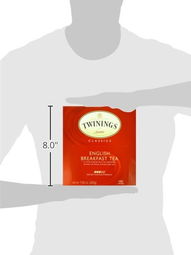 Twinings of London English Breakfast Black Tea Bags, 100 Count by Twinings (Image #4)