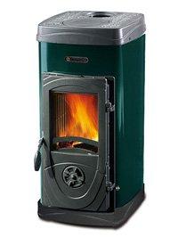 Nordica estufa de fuego Continuo Super Max Verde 1 unidades