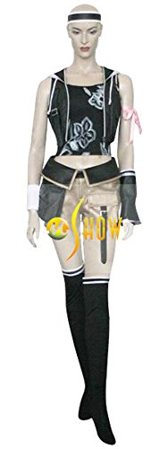 Mtxc Women's Final Fantasy VII Cosplay Costume Yuffie Kisaragi Full Set 1st Size X-Small (Final Fantasy 7 Costumes)