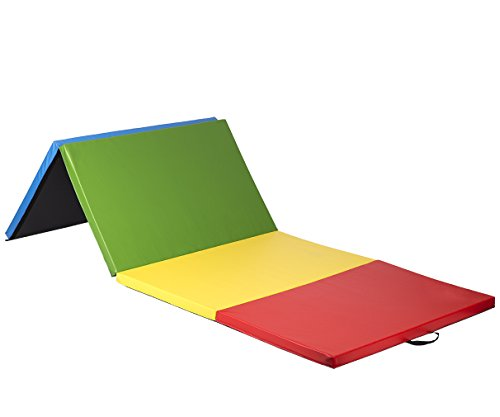 Bestmassage 4 X10 X2 Thick Folding Panel Gymnastics Mat