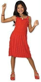 [High School Musical Gabriella Costume - Large] (Highschool Halloween Costumes)
