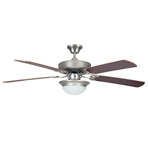 Concord Fans Heritage Fusion Ceiling Fan with CFL Light Kit