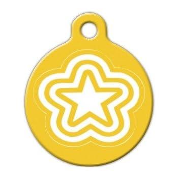 Amazon.com: Ninja Star – Pet ID Tag para perros y gatos ...