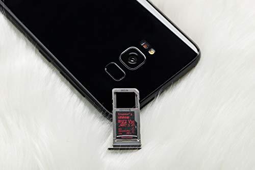 Kingston Canvas React 64GB microSDXC Class 10 microSD Memory Card UHS-I 100MB/s R Flash Memory High Speed microSD Card with Adapter (SDCR/64GB)