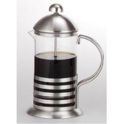 Dunk tea Thai Coffee, Espresso and Tea Maker 20 Oz Pot, Chrome, Includes 6 Filters