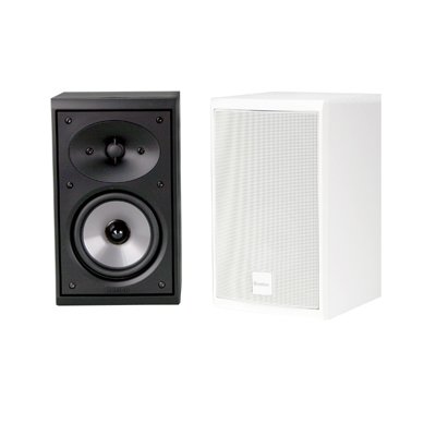 Boston Acoustics CR57 Black Pr 2 Way Bookshelf Speaker