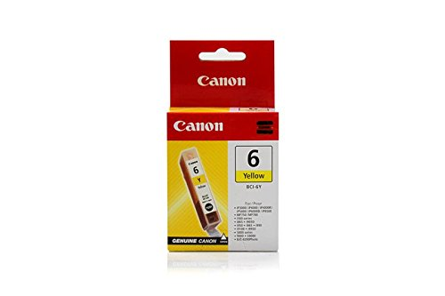 (Canon Pixma IP 8500 -Original Canon 4708A002 / BCI-6Y - Yellow Ink Cartridge)