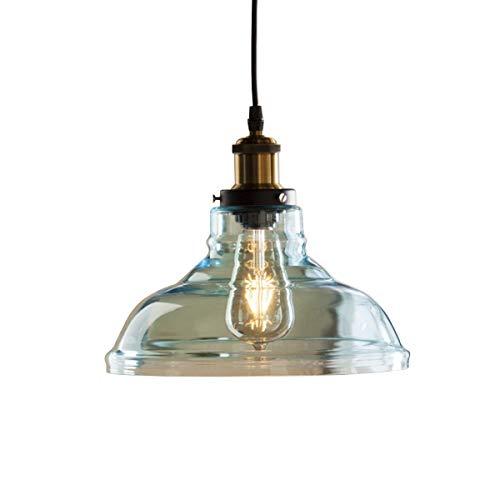 Aqua Glass Pendant Light