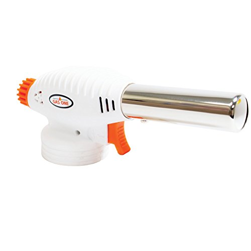 GasOne Cooking Torch Anti Flare Technology - Culinary Torch - Food Torch for Home Cooking and Professional Use GT-099 by GasOne (Image #1)