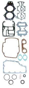 OMC 40 HP , 45 HP , 48 HP , 50 HP 1981 , 55 HP , 60 HP 2 Cyl. Complete Power Head Gasket Kit WSM 500-125 OEM# 393433, 437806, 439083 ()