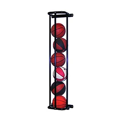 Jaypro Sports Stack Master Basketball Wall Storage Rack In Black