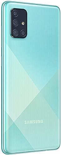Samsung Galaxy A71 A715F 128GB Dual-SIM GSM Unlocked Phone (International Variant/US Compatible LTE) - Prism Crush Blue WeeklyReviewer