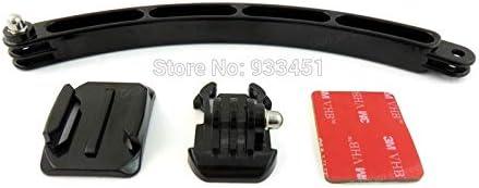 Shoot XTGP83 Adhesive Mount Extension Arm Helmet Kits for Hero3 3 4 SJ4000//5000
