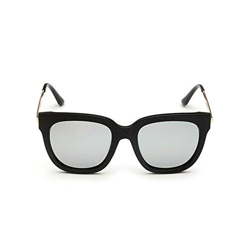 de DT Sol Polarizer Gafas Sol la Hombres Redondas de Gafas conducen Retro 3 Color los Cara de de Que r4rqP