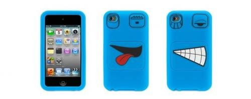 Change Ipod Touch - Faces Case for iPod Touch 4G Blue