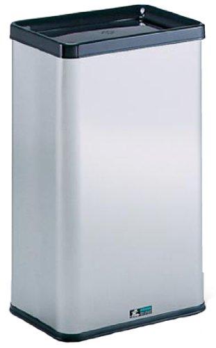 テラモト ゴミ箱 ステン エルボックス 中缶なし [正規代理店品] B00265EP4E