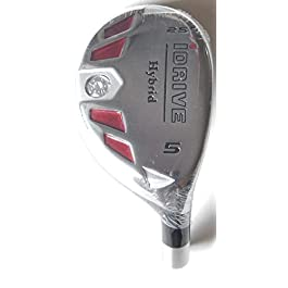 New Integra I-Drive Hybrid Golf Club #5-25° Right-Handed With Graphite Shaft, U Pick Flex