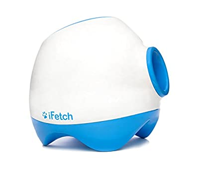 iFetch Too Interactive Ball Launcher for Dogs - Launches Standard Tennis Balls, Large by iFetch