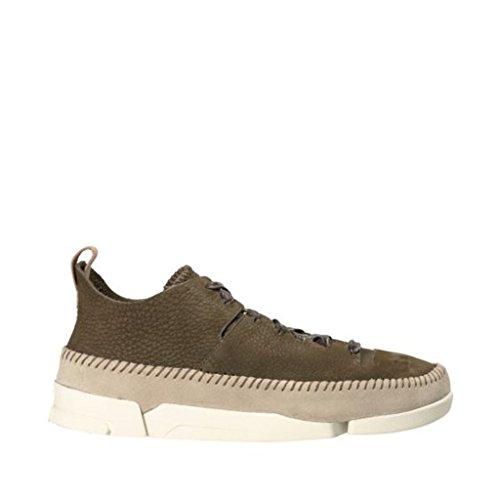 CLARKS Men's Nubuck Trigenic Flex Sneakers