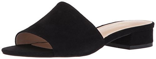 Franco Sarto Womens Sabani Slide Sandal Black 5RAFV4z8E