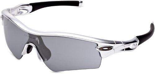 2c158ebf7f Amazon.com  Oakley Men s Radar Path Polished White w  Red Iridium Sunglasses   Shoes