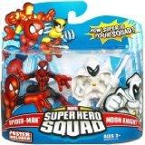 Marvel Super Hero Squad - Spider-Man and Moon Knight