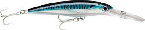 Cheap Rapala X-Rap Magnum 10 Fishing lure, 4.375-Inch, Silver Blue Mackerel