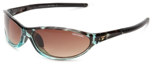 Tifosi womens Alpe 2.0 SingleLens Sunglasses,Blue Tortoise,62 mm ()