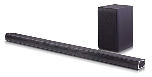 LG Electronics SH7B Soundbar + Wireless Subwoofer | 2016 Model (4.1 Channel, 360W) (Renewed)