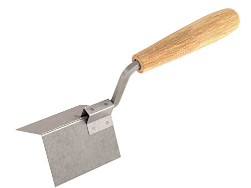 Bon 13-299 Outside Corner Trowel, Stainless Steel 2-inch x 2-inch, Wood Handle (Corner Trowel Steel)