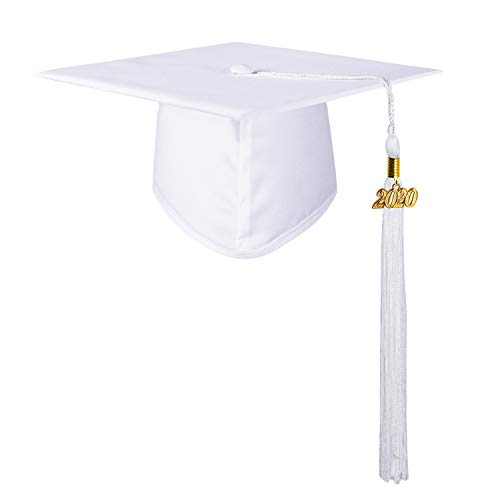 white graduation cap - 2