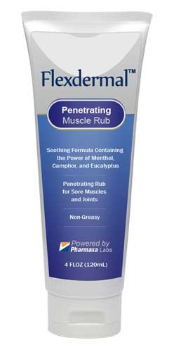 Flexdermal Pain Relief Arthritis Stiffness Swelling Muscle Soreness Joints (1) by Flexdermal