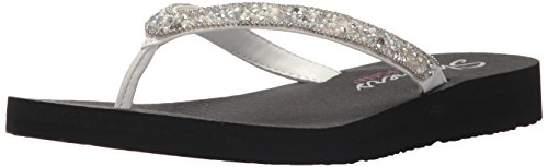 White Skechers Women's Meditation Sole Tahiti Cali nWCfWqA