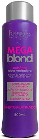Mega Blond Ultra Matizadora, FOREVER LISS, 500gr