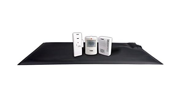 Detector de movimiento Alarma Paquete de | un set completo contra el umherirren | Fysic FA de 130 | falsas alarmas Personas Mayores: Amazon.es: Hogar