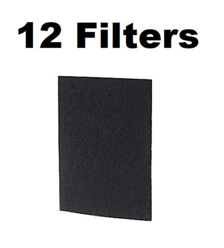 Carbon Filter for Holmes Bionaire GE HAP60, HAPF60PDQ-U, A1260C 12-PACK