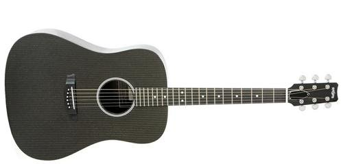 RainSong Hybrid Series H-DR1100N2 Dreadnought acoustic with N2 neck - Carbon Fiber Acoustic