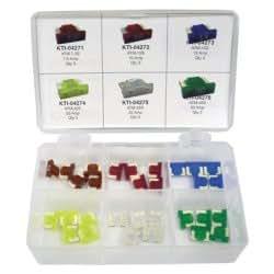 Perfil bajo Mini juego de fusibles–7diferentes tamaños de amplificador de 35piezas herramientas Kit de herramientas de mano