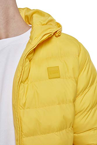 Gelb Uomo Giacca Yellow Basic Jacket Urban Classics chrome Bubble 01148 IqPYXS7Sn