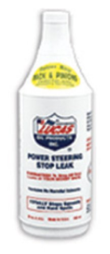 Lucas Oil 10011-PK12 Power Steering Stop Leak - 1 Quart (Pack of 12) by Lucas