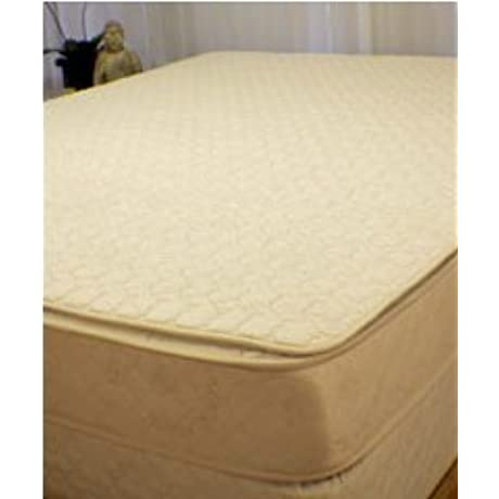 Organic Cotton Quilted Mattress Pad King