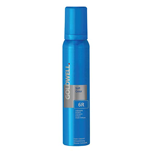 - Goldwell Colorance Soft Color 6R Mahogany Brilliant 4 oz conditioning foam