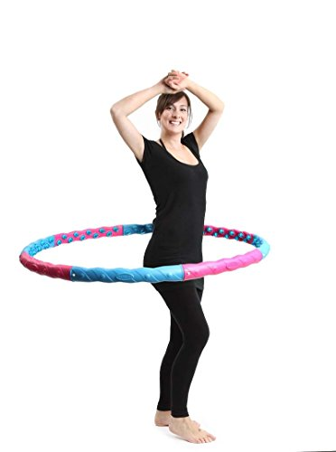 wide-hula-hoop-with-massage-balls-double-magnetic-balls-exercise-fitness-workout-abdominal-8-pcs-pip