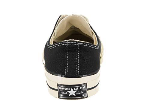 Ox Converse Zapatillas 001 black Chuck Negro Taylor black Adulto Unisex 70 egret wq1tAxrq