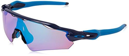 Oakley Men's Radar EV Asian OO9275-05 Shield Sunglasses, Navy, 135 - Radar Oakley Blue